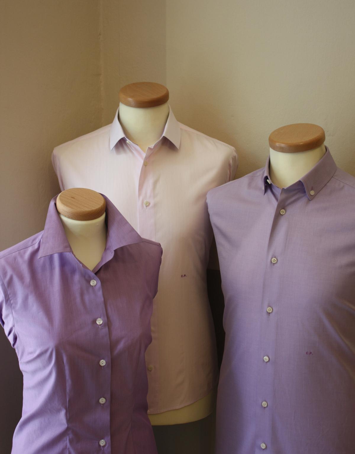 camicie colori diversi