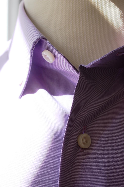 camicia sportiva viola